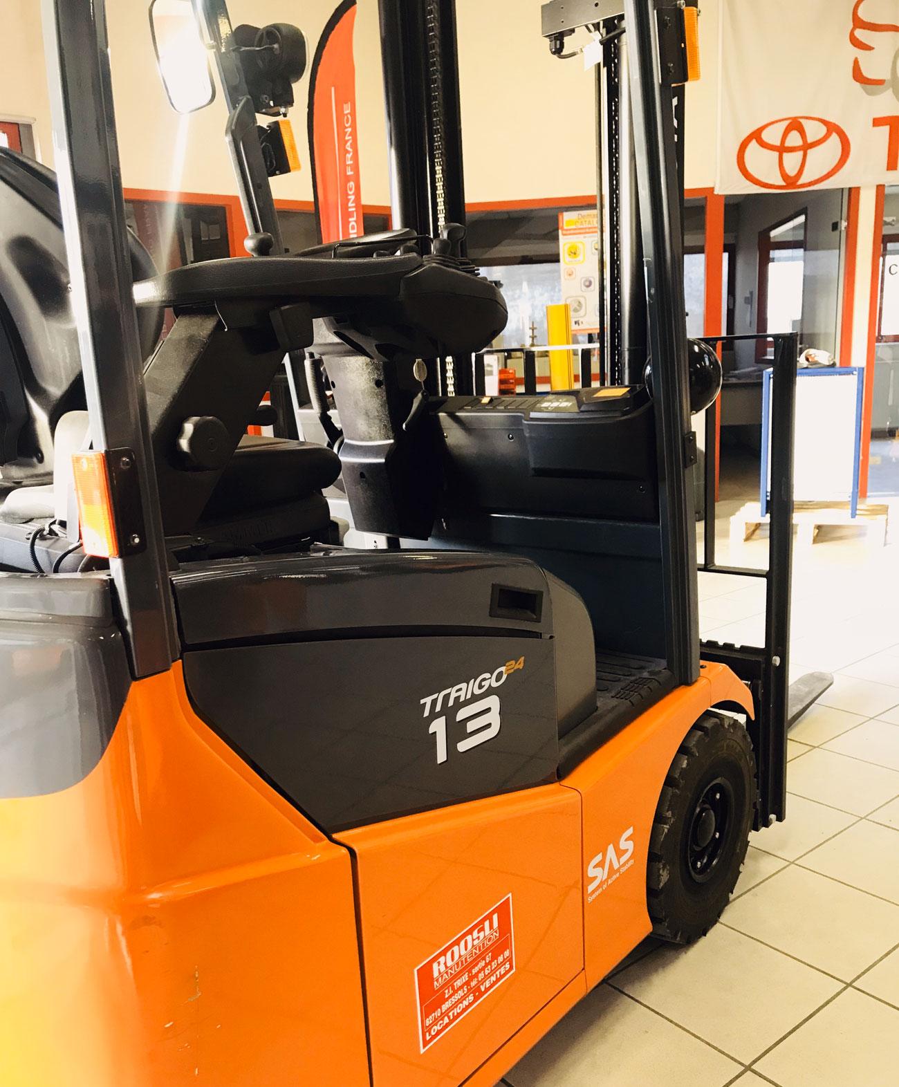 Chariot élévateur Toyota 7 FBEST 13 photo 2