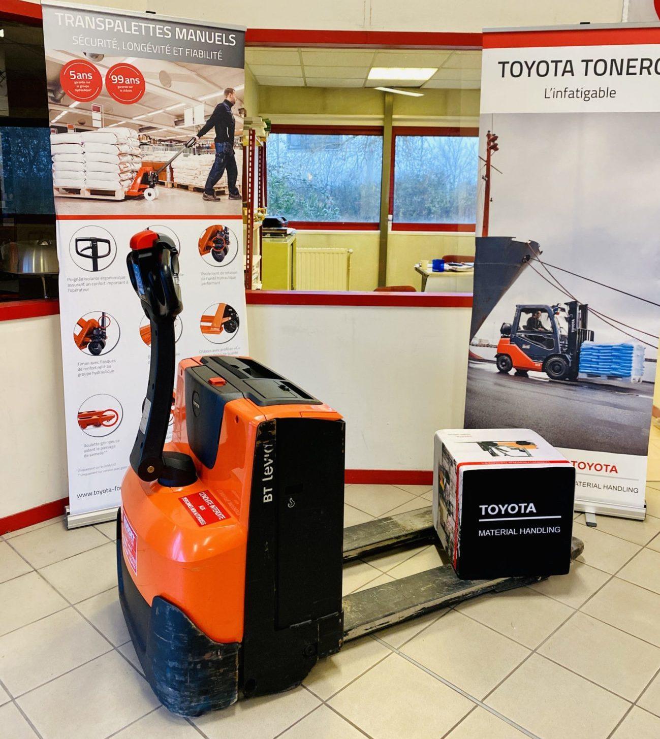 Transpalette électrique Toyota BT LWE160 photo 2